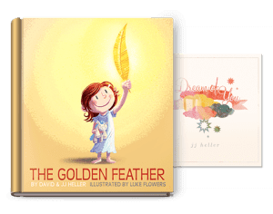 Giveaway: JJ Heller's I Dream of You + The Golden Feather (2 Winners!)