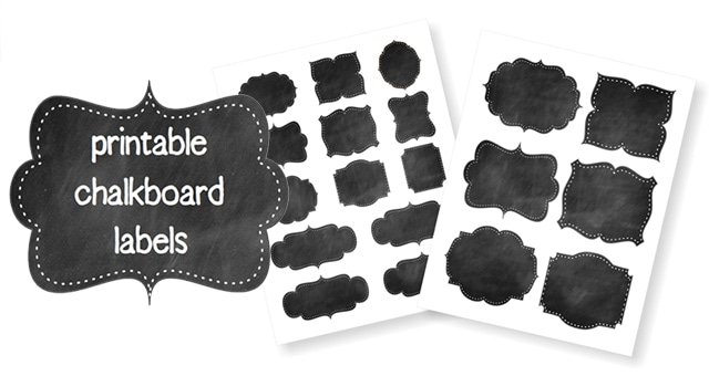 photograph relating to Printable Chalkboard Labels identify Free of charge Printable Chalkboard Labels \u003e Daily life Your Route