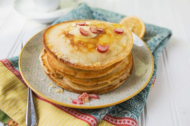 Lemon Sugar Pancakes #recipe via LifeYourWay.net