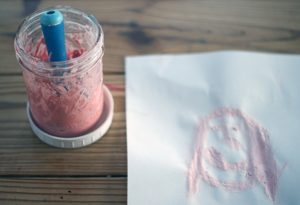 Read more about the article Make Your Own Washable Paint from Chalk {A Guest Post from My 8 Year Old}