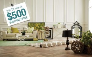 Pin It to Win It for a $500 Shopping Spree to Refresh Your Home!