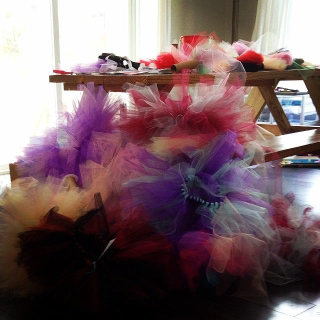 Grace  & Glory Tutu Making Party