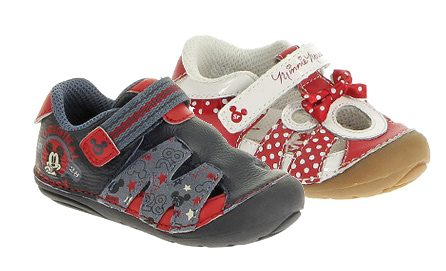 Stride Right Disney Baby Shoes