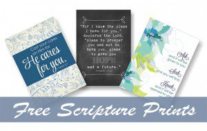 Free Printable Scripture Prints for Your Home