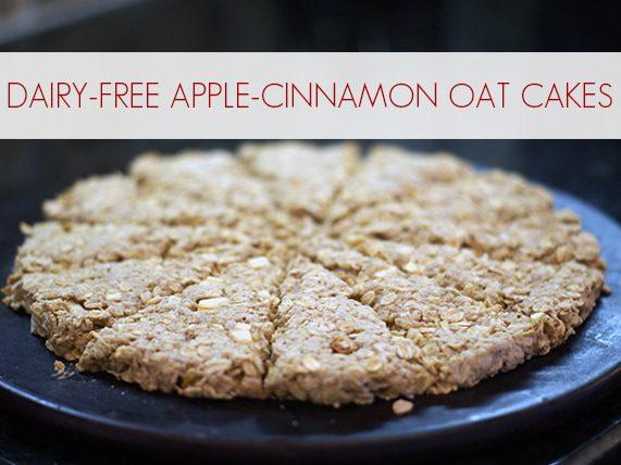 Dairy-Free Apple-Cinnamon Oat Cakes