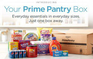 Grocery Shop from Home with Amazon's Prime Pantry