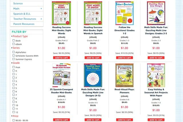 Scholastic Teacher Express Summer Steals