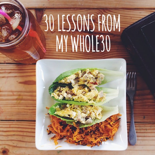 30 Lessons from My Whole30