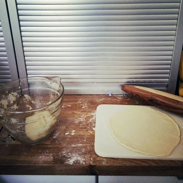Easy, homemade tortillas