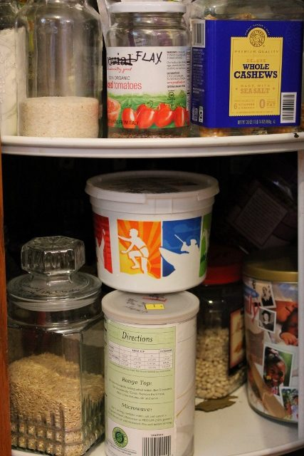 Dry Good Storage - safe from pests!
