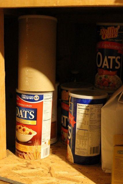 Bulk oat storage