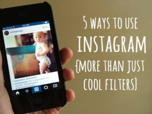 5 ways to use Instagram: more than just cool filters