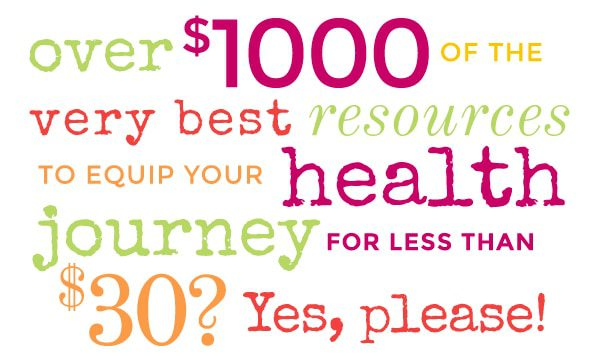 You are currently viewing Get the Ultimate Healthy Living Bundle {PLUS win a Kindle Fire HDX!}