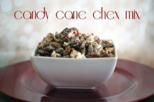 Candy cane chex mix {101 Days of Christmas}