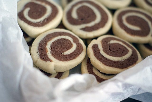 Chocolate pinwheels {101 Days of Christmas}