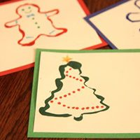 Cookie Cutter Painted Gift Tags