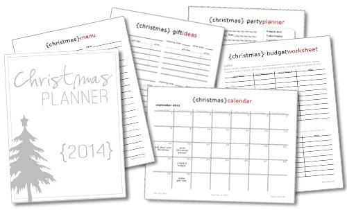 FREE 2014 Christmas Planner from Life Your Way