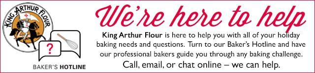 King Arthur Flour Baker's Hotline