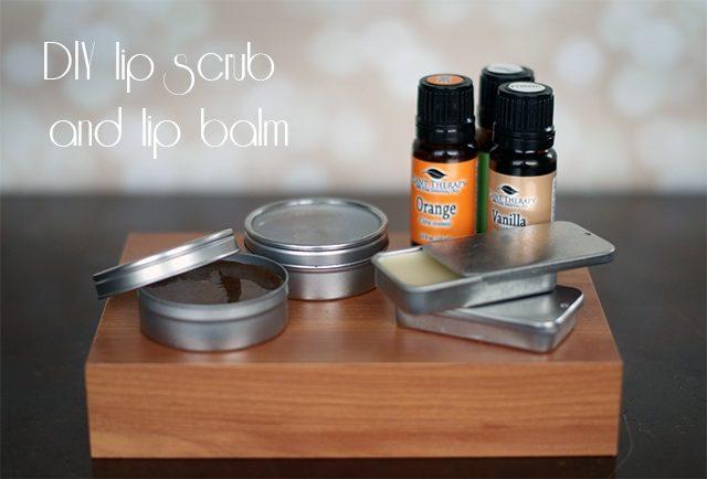 DIY Lip Scrub and Lip Balm