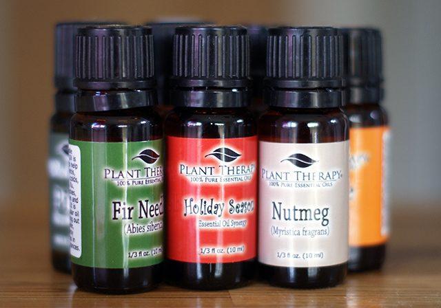 Holiday essential oils