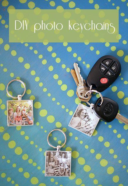 DIY Photo Keychains