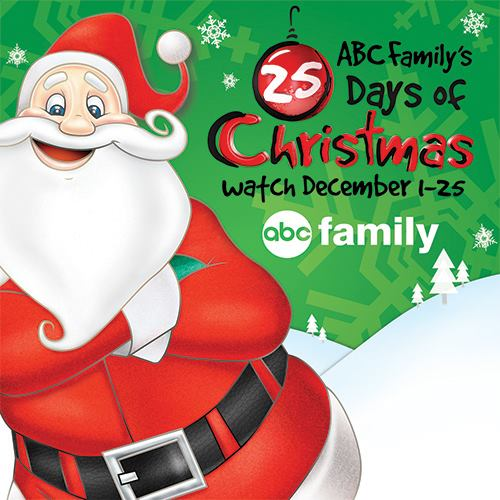ABC Family's 25 Days of Christmas {101 Days of Christmas}