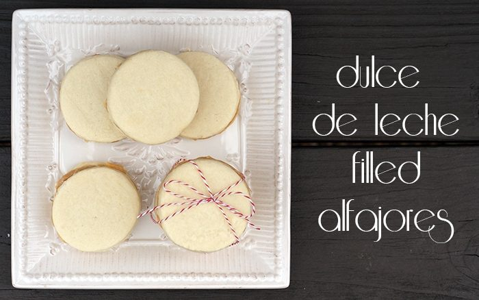 Dulce de leche-filled alfajores {101 Days of Christmas}