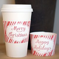 Printable Coffee Sleeves