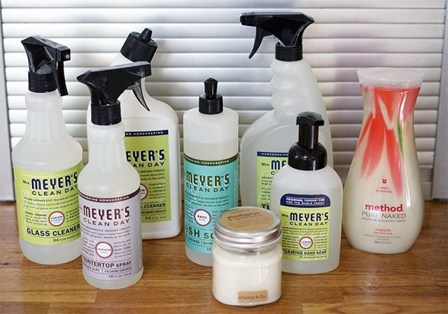 Get a $10 coupon PLUS a FREE bottle of Mrs. Meyer's Multi-Surface Cleaner!