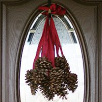 Hanging Pinecones