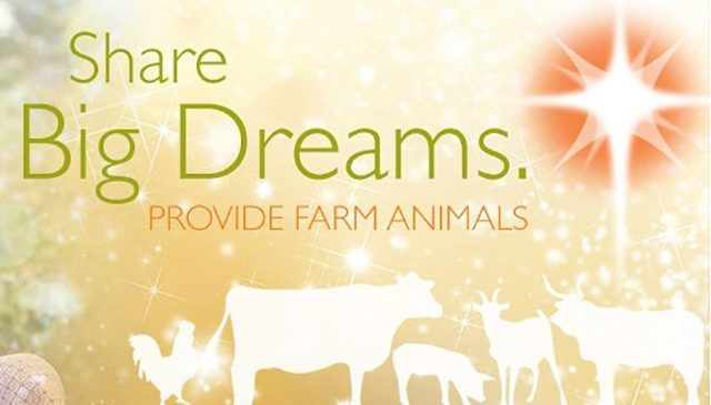 Farm animals for Christmas {101 Days of Christmas}