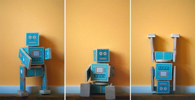 Ollibots Wooden Robots