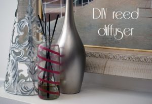 DIY reed diffusers {101 Days of Christmas}