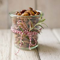 Rosemary Honey Roasted Nuts
