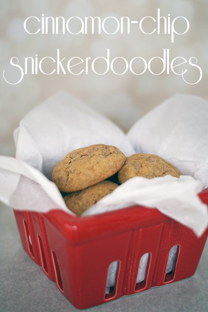 Cinnamon-Chip Snickerdoodles