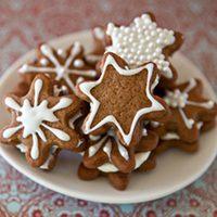Snowflake Gingerbread Creams