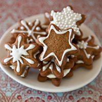 Snowflake Gingerbread Creams