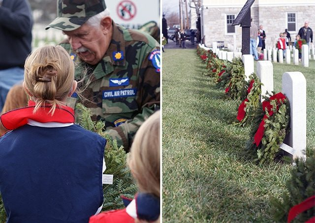 Honor the fallen with Wreaths Across America {101 Days of Christmas}