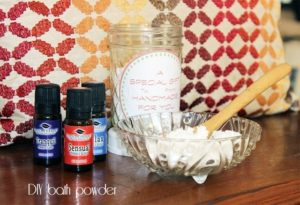 DIY bath powder {101 Days of Christmas}