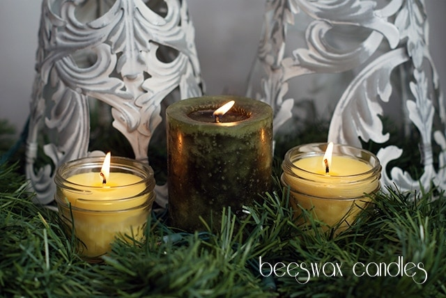 Beeswax candles + a Plant Therapy giveaway {101 Days of Christmas}
