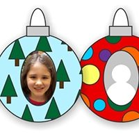 Printable Photo Ornaments