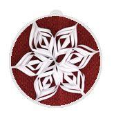 3-D Paper Snowflakes