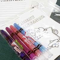 Mini Christmas Coloring Book