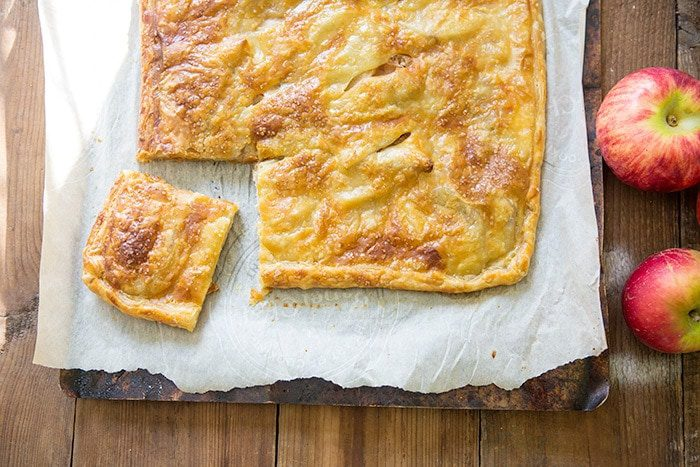 Easy Apple Cheese Danish Squares | LifeYourWay.net