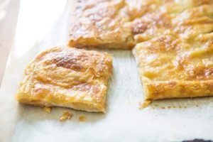Easy apple cheese danish squares