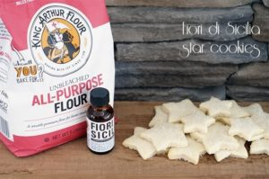 Fiori di Sicilia star cookies + a King Arthur Flour giveaway {101 Days of Christmas}