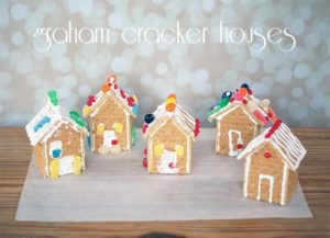 Graham cracker houses {101 Days of Christmas}