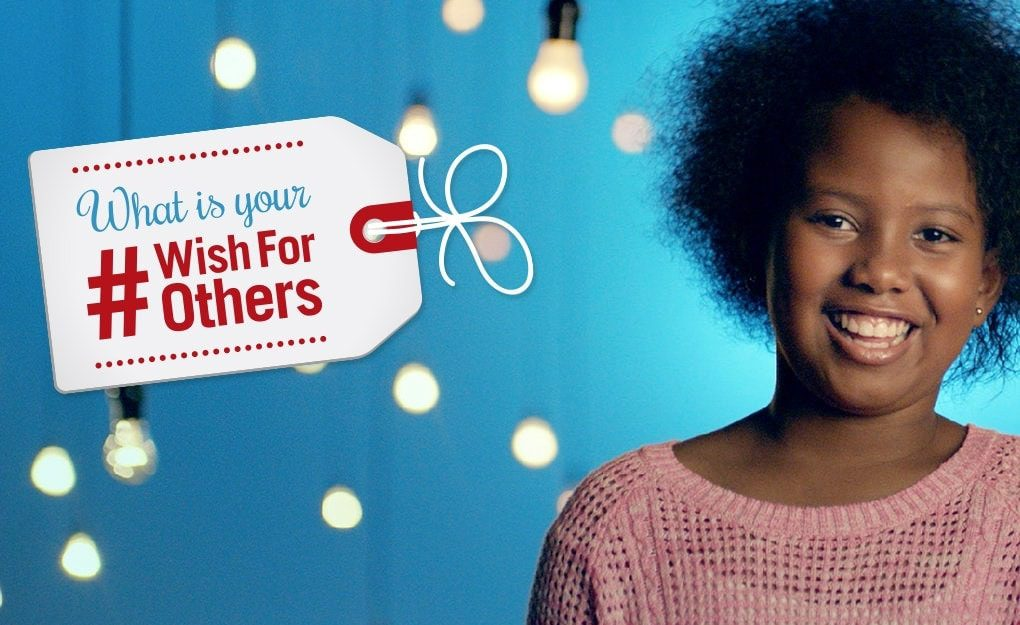 What is your #wishforothers this Christmas?