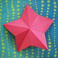 One-Cut Paper Stars