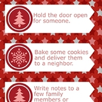 Random Acts of Kindness Advent Cards
